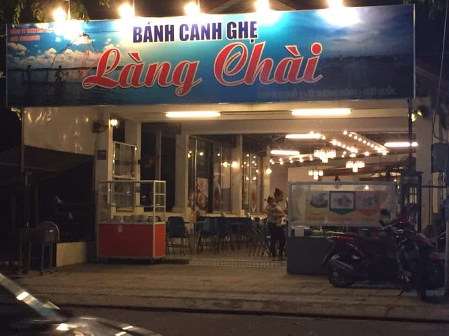 Banh Canh Ghe Lang Chai